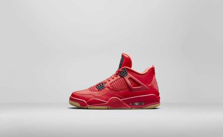 Air Jordan 4 NRG fire Red womens
