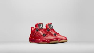 Air Jordan 4 fire red womens