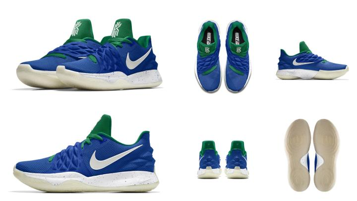 Luka Doncic nike kyrie low PE opening night