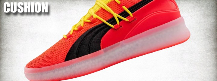 Puma Clyde Court Disrupt Performance Review cushion
