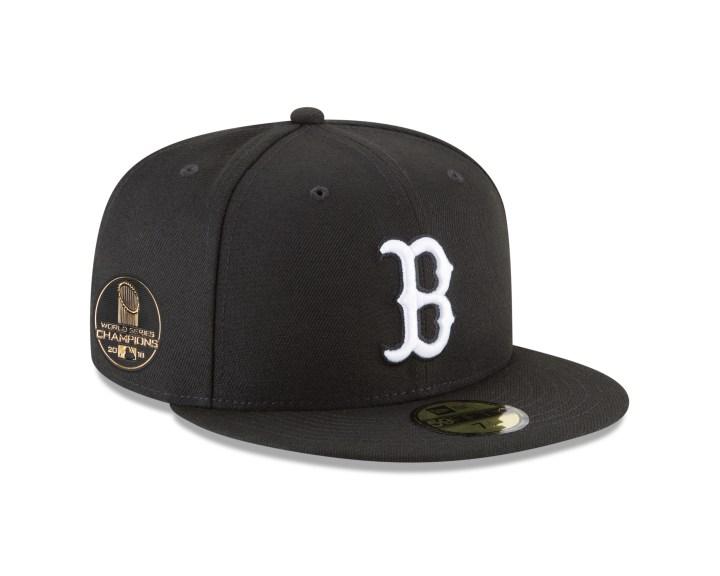 boston red sox world series hat new era