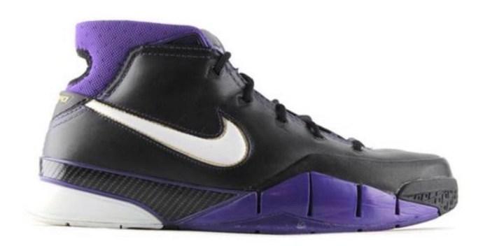 kobe 1 protro black purple