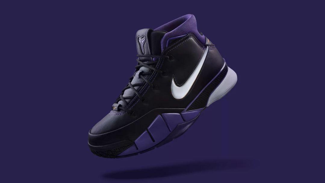 f7dd29b74d1e Kobe Bryant s OG Nike Kobe 1 Protro  Black Out  is Available Now ...