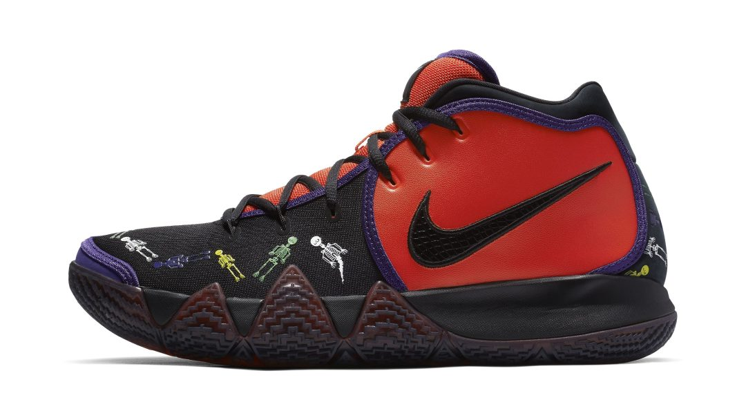 45e6102c61faaf Kyrie 4  Day of the Dead  Quickstrike for Halloween Surfaces Online ...