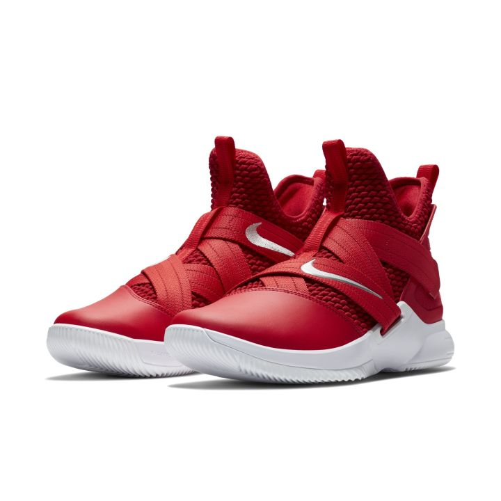 nike lebron soldier 12 team colorways red