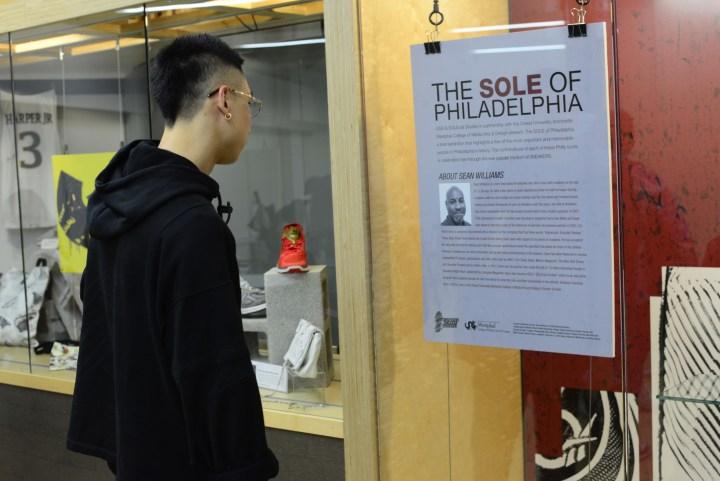sole of philadelphia sneaker exhibit drexel university sean williams rankin scholar