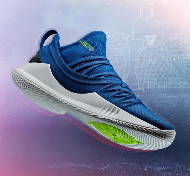 ua curry 5 blue stephen curry