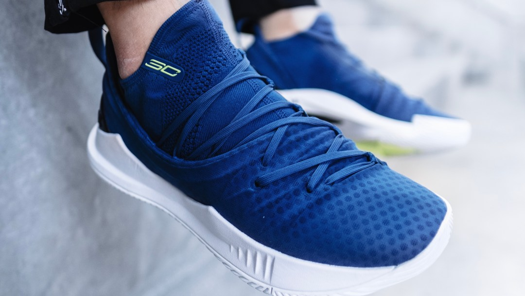 under armour curry 5 blue release date