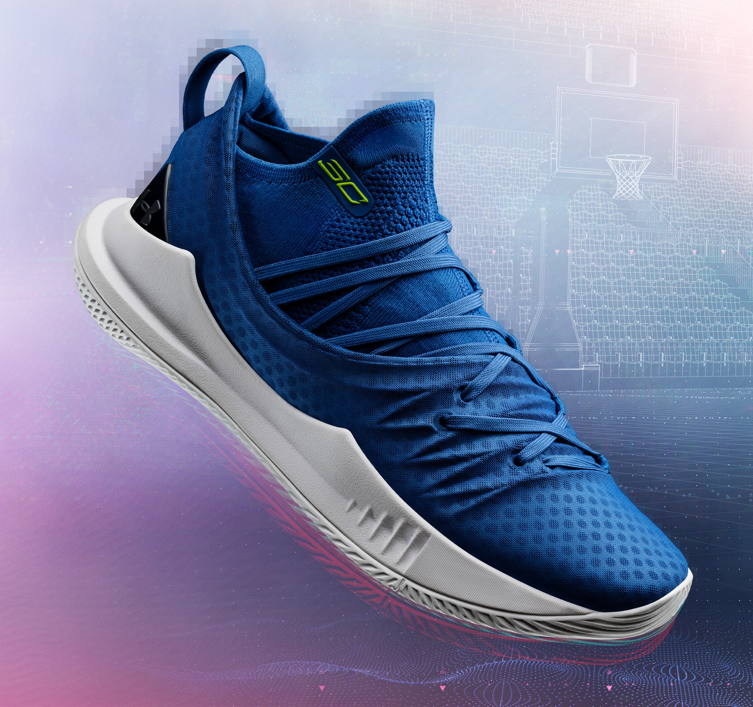 9769a618198e under armour curry 5 blue steph curry - WearTesters