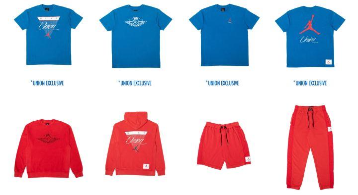 union jordan flight collection apparel 2