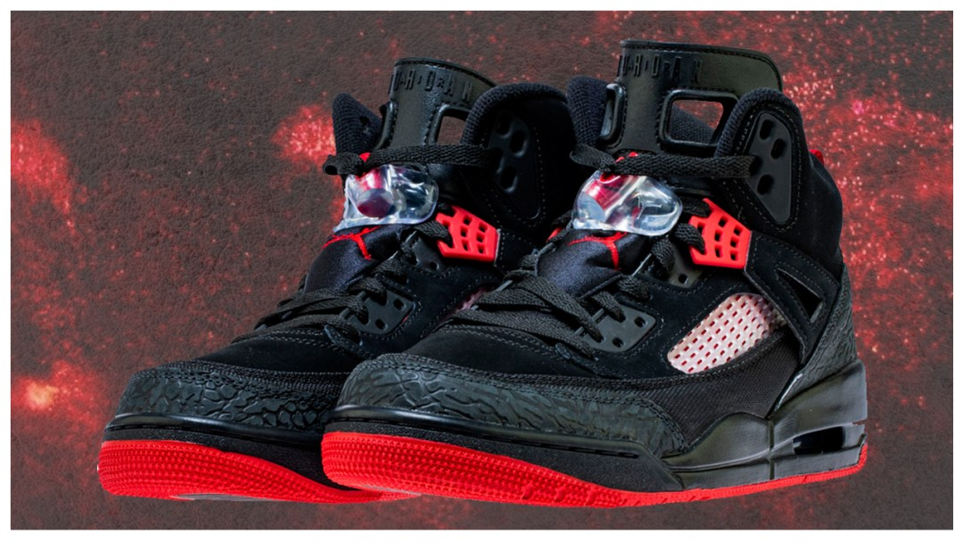 best service b695d bfa2a The Jordan Spizike Has Released in Black Red - WearTesters