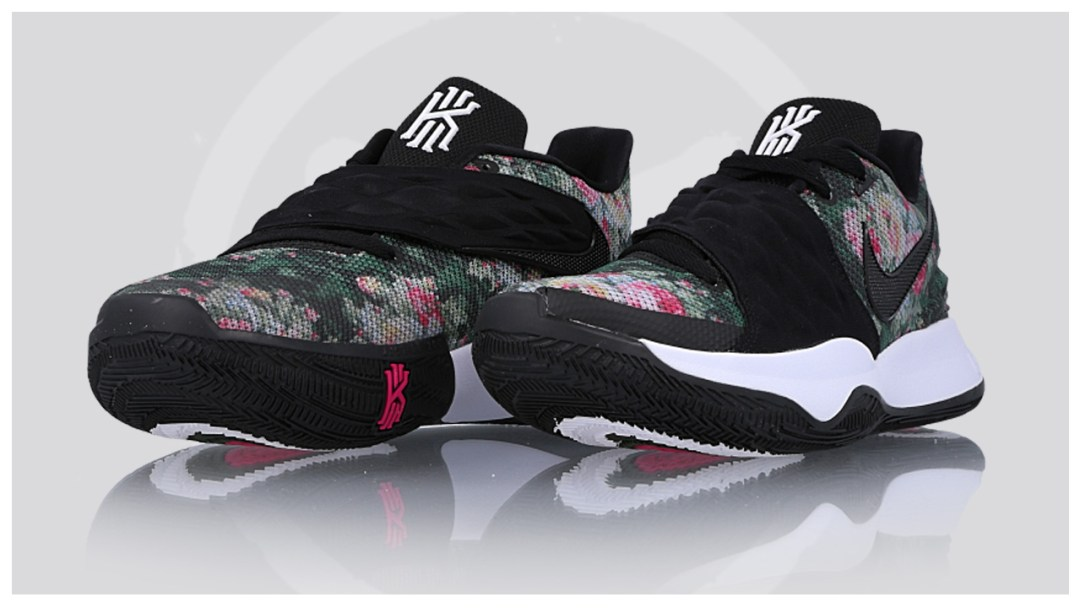 7b93d5262b32 The Nike Kyrie Low Goes Floral - WearTesters