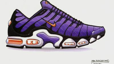 Nike air Max Plus TN original sketch sean mcdowell
