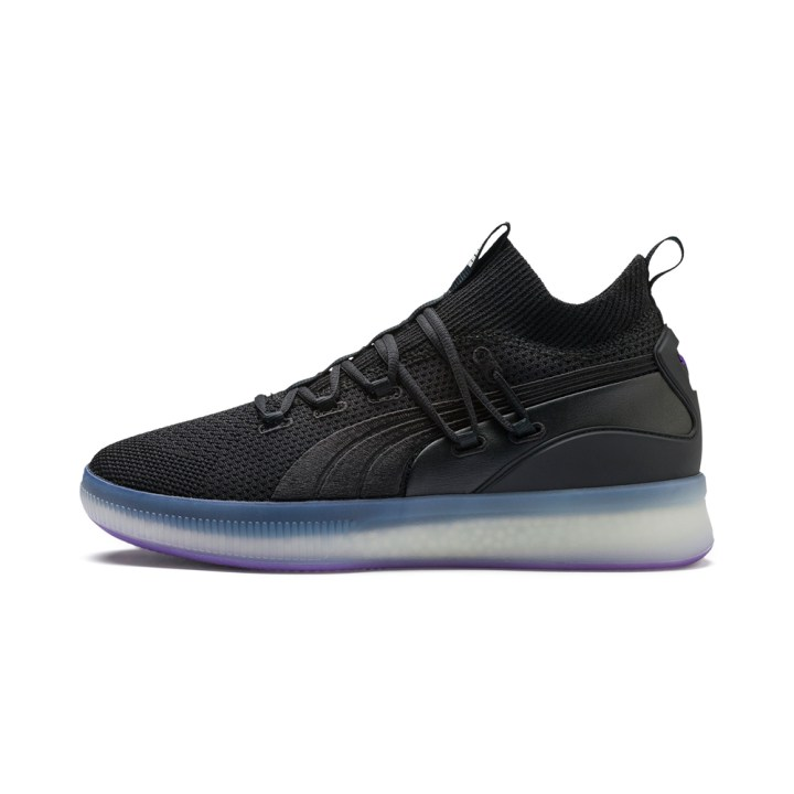The Puma Clyde Court  Purple Glow  will release on November 21 for  120 at  Puma.com. pumahoops 75be740af