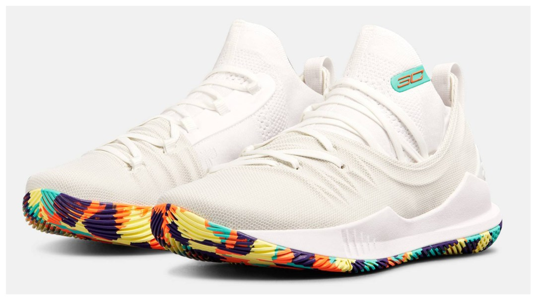 aec35390a7e0 Confetti Finds its Way Onto the Under Armour Curry 5 - WearTesters
