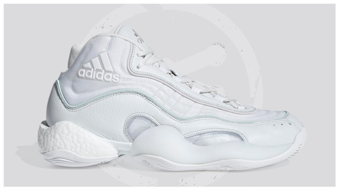 51808e362ef4 The adidas 98 X Crazy BYW is Now Available in Triple White - WearTesters