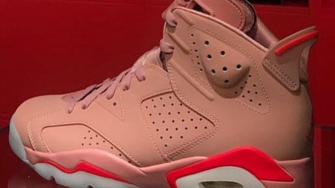 Aleali May Air Jordan 6  Rust Pink  May Release Early Next Year ... 4a33ce0f0ac7