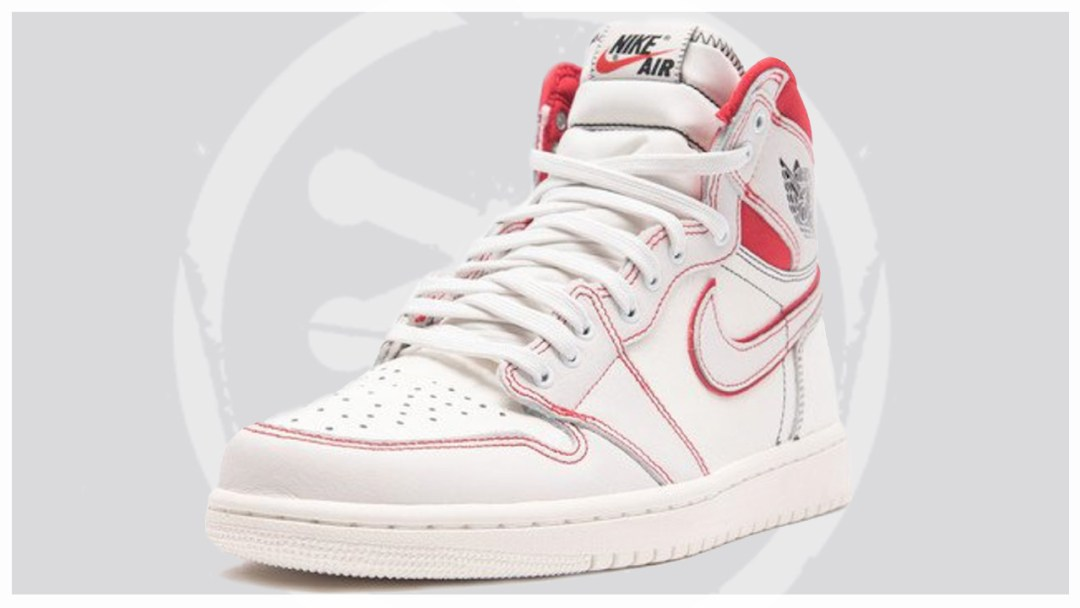 a91f91f33c2482 Air Jordan 1 Retro High OG Sail University Red to Release in March ...
