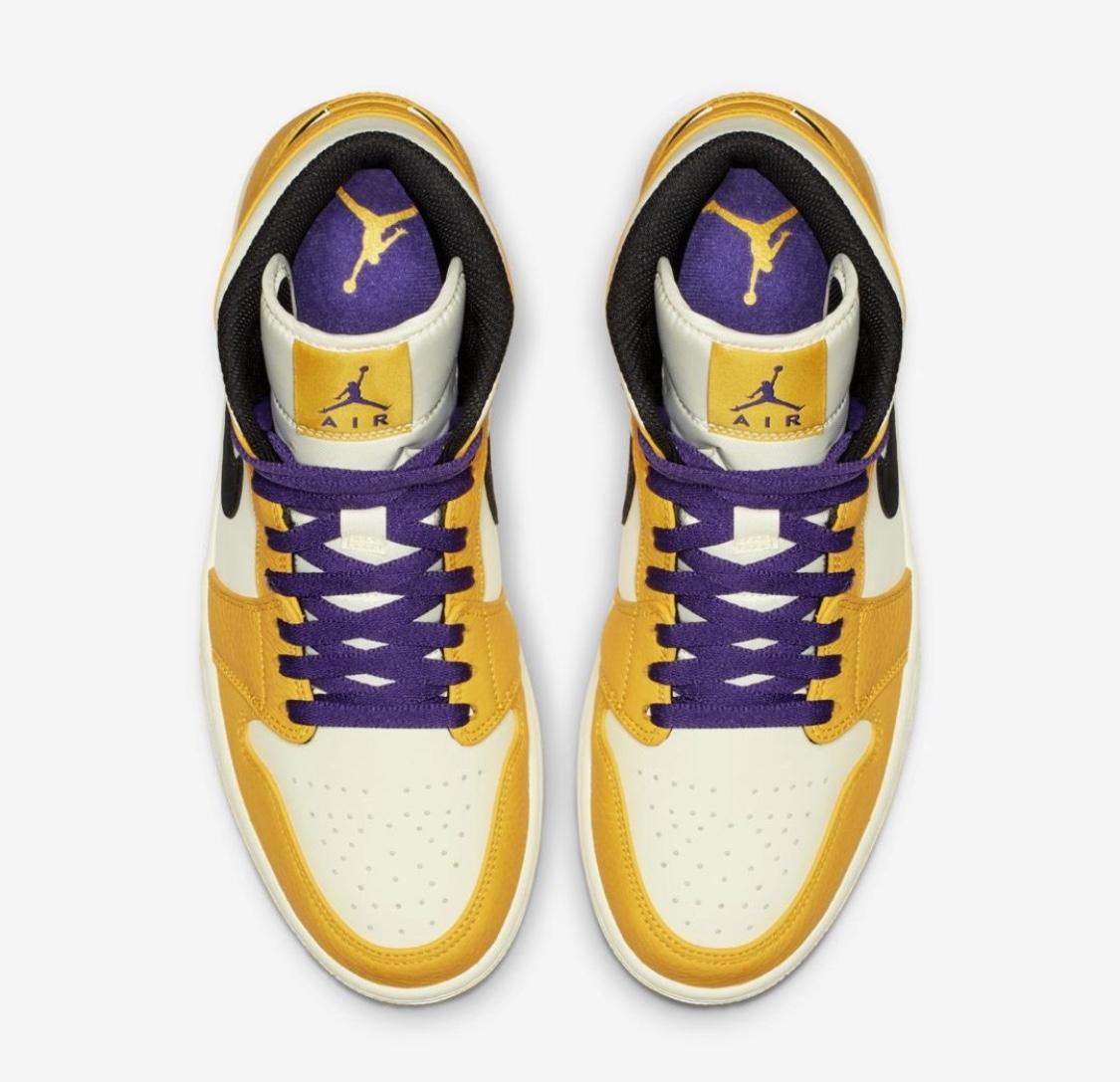 ed87ef691b0b28 Air-Jordan-1-Mid-SE-Lakers-2 - WearTesters