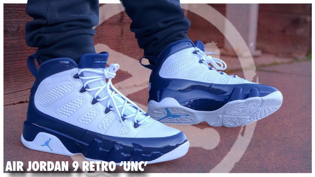 41d1addd561 Air Jordan 9 Retro 'UNC' | Detailed Look and Review - WearTesters