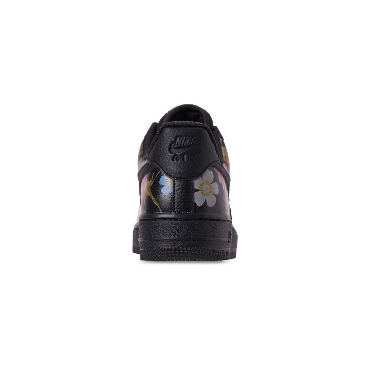 NIKE WOMENS AIR FORCE 1 '07 LXX BLACK:BLACK-METALLIC GOLD 3