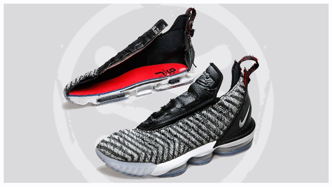 hot sale online 9a962 6619b The Nike LeBron 16 Deconstructed - WearTesters