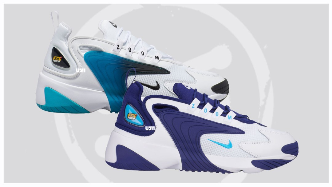 New Colorways Of The Nike Zoom 2k Draw Inspiration From The 90s
