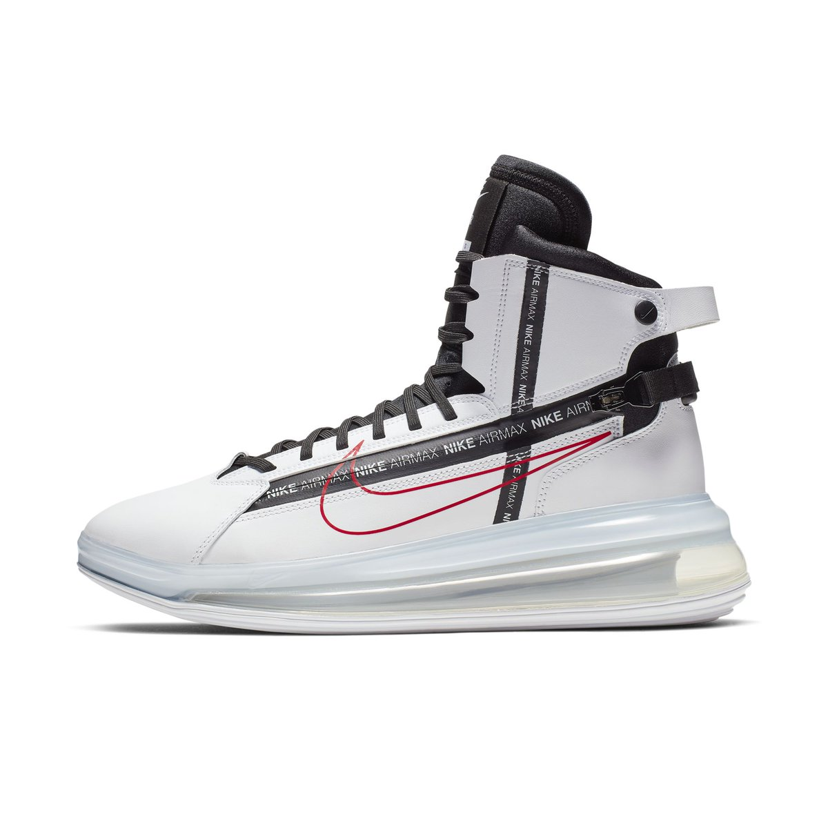 check out 3f753 fa5af NIKE AIR MAX 720 SATURN WHITE BLACK UNIVERSITY RED 2