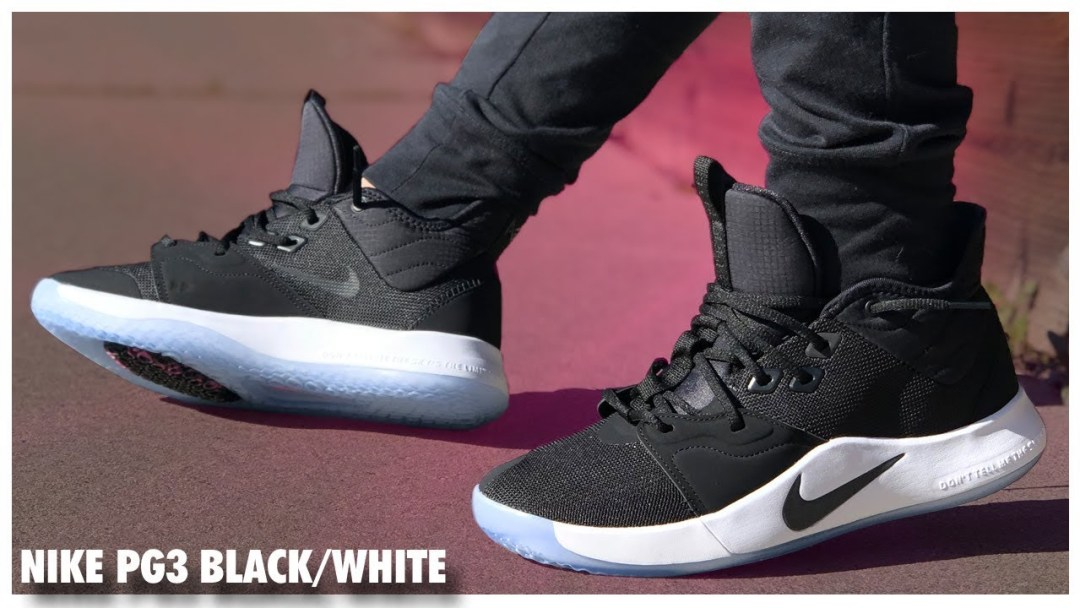 c774cc17c Nike PG3 Black White