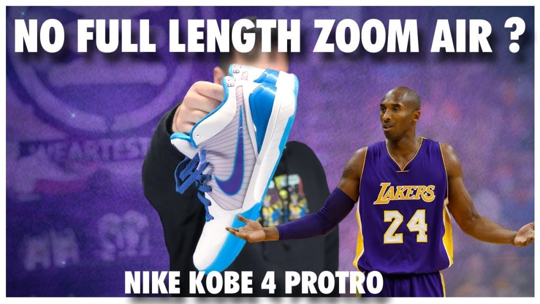 3e0f56ac75fa6 Full-Length Zoom Air is Not Featured in the Nike Kobe 4 Protro ...