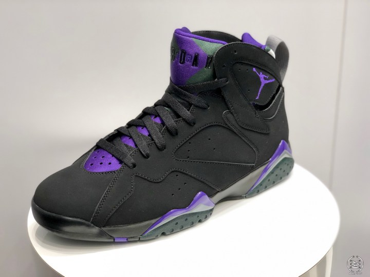 684a1f3111188 Get Up Close and Personal with Ray Allen s Air Jordan 7 PE - WearTesters