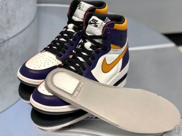 new concept 1a16b f2905 Air Jordan 1 OG x Nike SB Court Light Bone Black-Crimson Hyper Pink