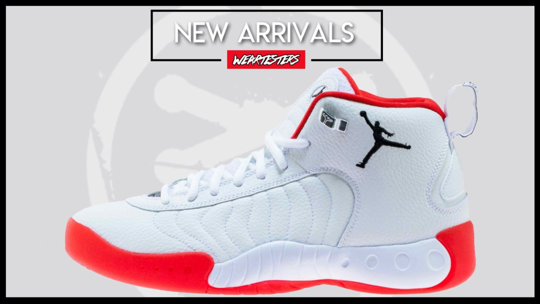 81247eca9598 The Jordan Jumpman Pro is Available Now in White/Red - WearTesters