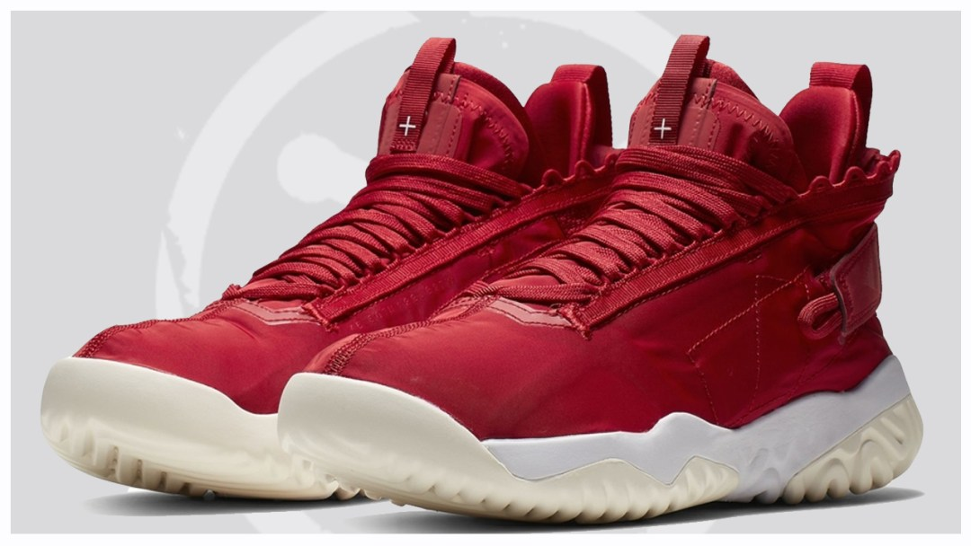 super popular dc639 37bea An Official Look at the Jordan Proto React in Red - WearTesters
