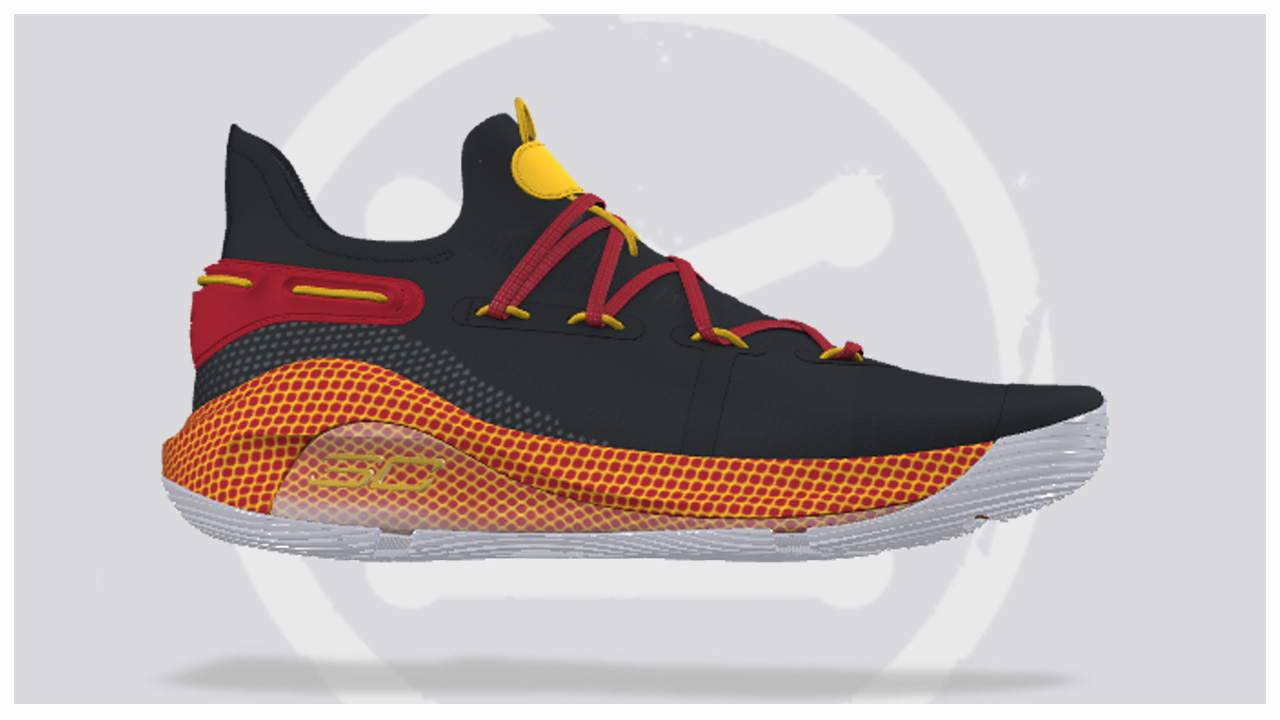 does the under armour curry 6 icon feature updated