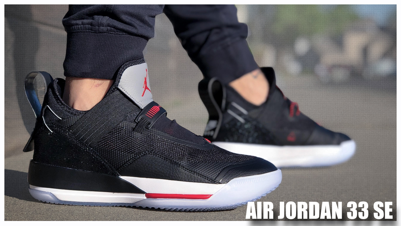 the latest 8b8e6 5c282 ... Air Jordan 33 SE  Black Cement.  Jordan Brand   Kicks On Court ...