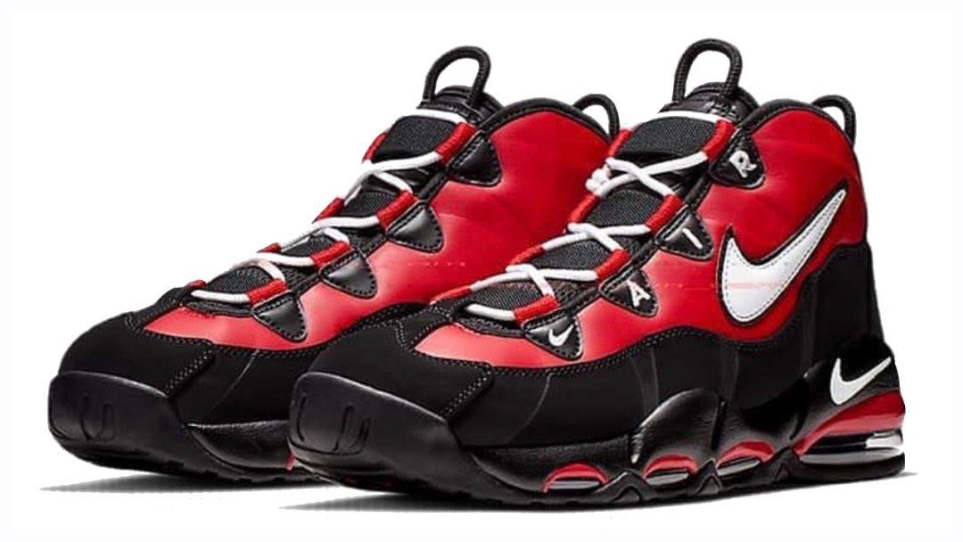 more photos 6b526 99a22 The Nike Air Max Uptempo 95 Appears in  Black Red  - WearTesters