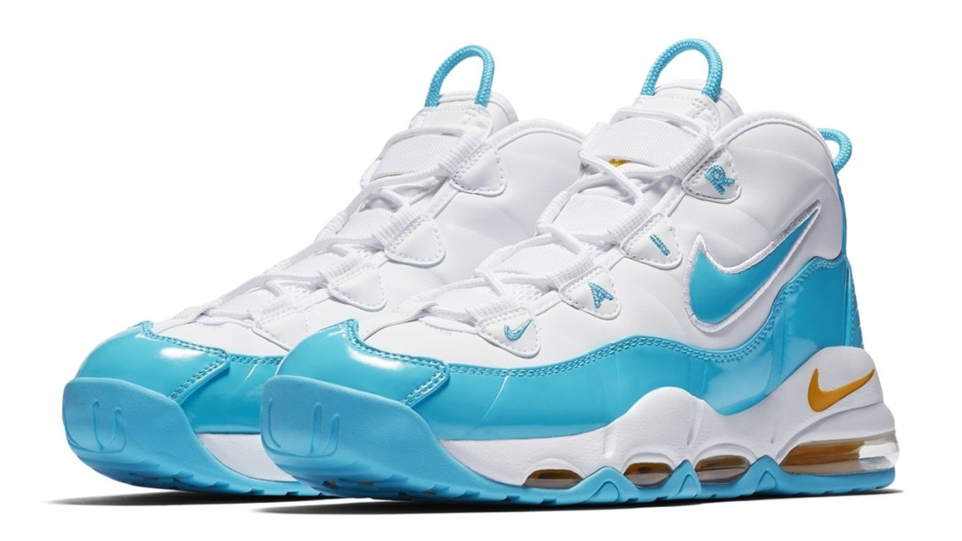 428d59937f7 The Nike Air Max Uptempo 95 to Release in Bright Turquoise - WearTesters