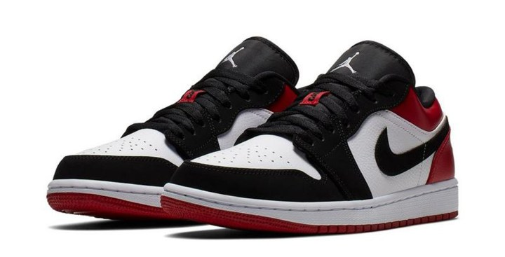 pretty nice 49fcb 504fe ... ran into a size run of the Air Jordan 1 Low in the  Black Toe  colorway  at Hibbett Sports for anyone interested in scooping up a pair. Retail is   90.