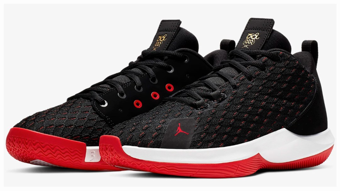 e251ecfc41435d Chris Paul s Jordan CP3.12 is Available Now in Black Red - WearTesters