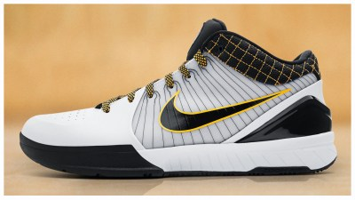 official photos a536a 0bc0f The Nike Kobe 4 Protro to Release in OG White Black  Del Sol  Colorway