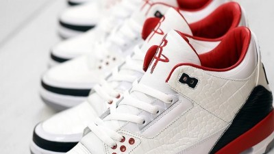 f668df7f45c Rockets Owner Gets Fitted With Custom Made Air Jordan 3