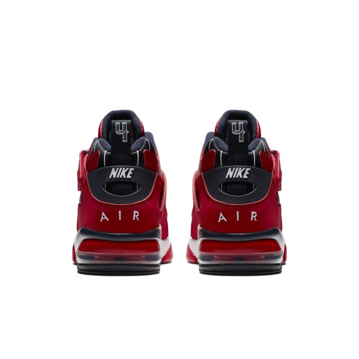 NIKE AIR FORCE MAX CB GYM RED:WHITE:BLACK 5