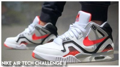 promo code a26b2 fa2b1 Nike Air Tech Challenge II (2) Retro 2019   Review