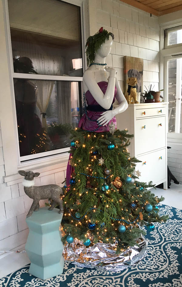 Mannequin Christmas Tree Dress Of My Dreams