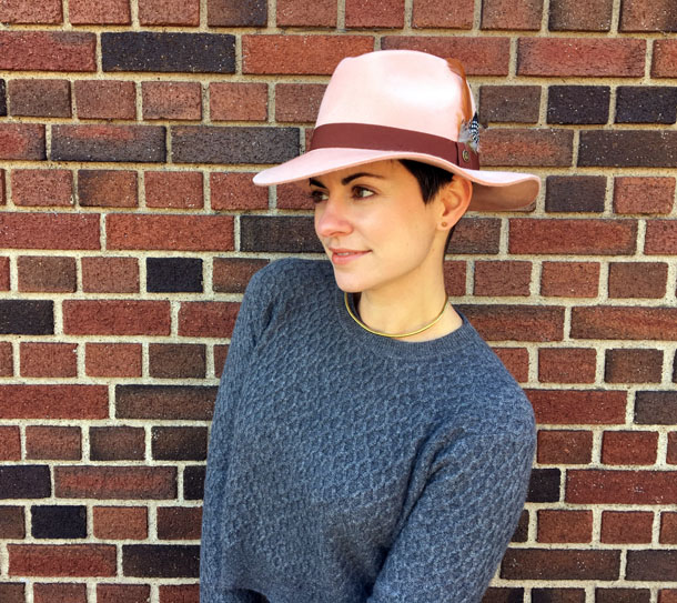 How To Wear A Hat With Short Hair Midway Media