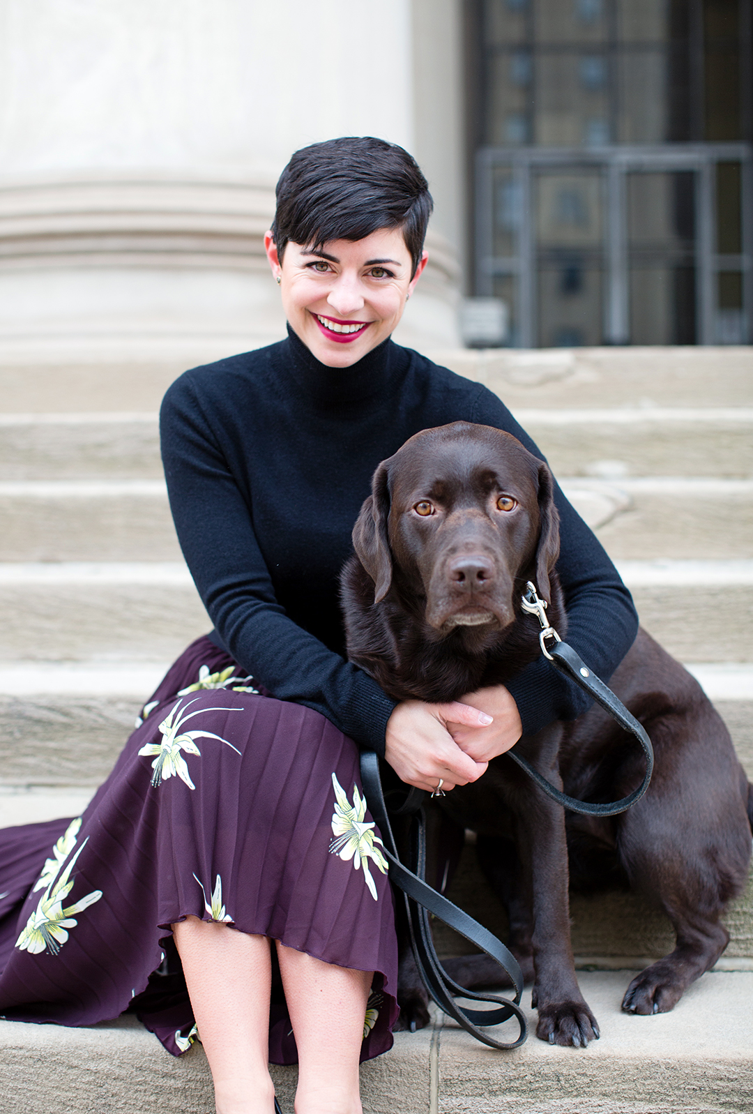 Why You Should Always Take Your Dog on a Fashion Shoot