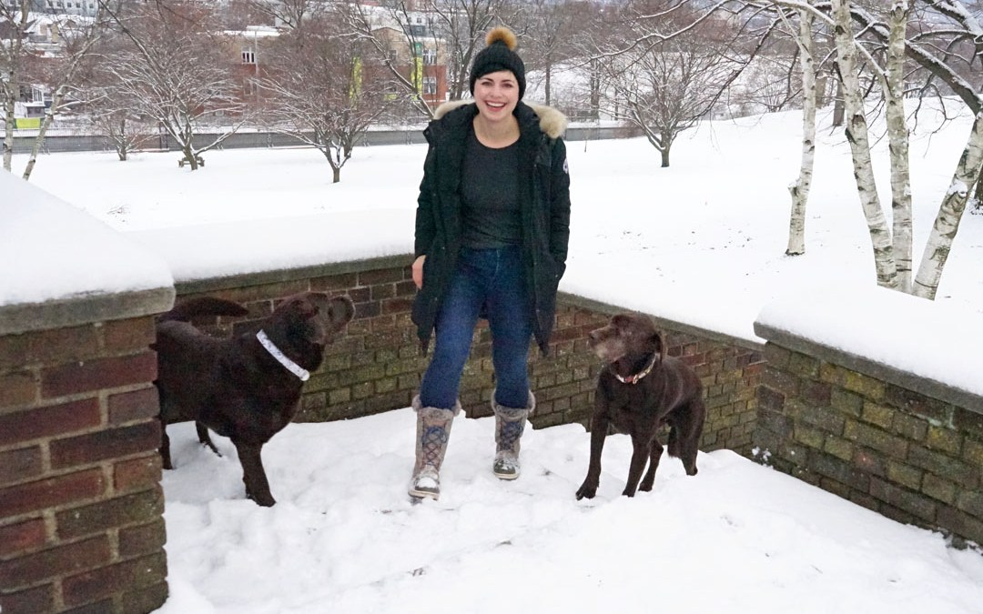 The Best Warm Jeans for Winter Dog Walks