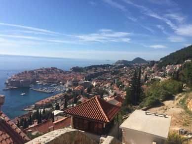 View over Dubrovnik Old Town, Red-Roofs
