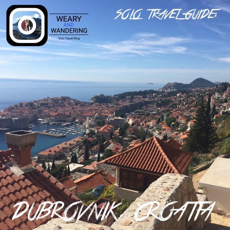 Solo Travel Guide: Dubrovnik (Instagram)